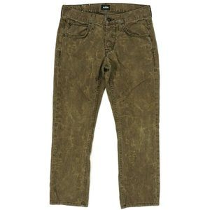 Hudson Mens Jeans Size 30×27 Byron Straight Fit